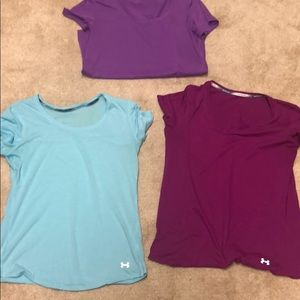 Under Armour shirts (set of 3)